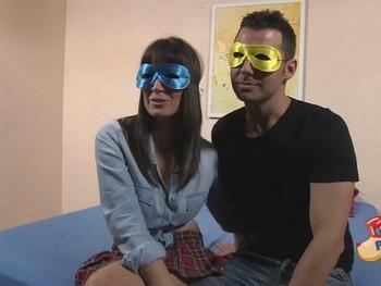 Mara y Jorge una pareja de buenorros que para su primer video se marcan un polvazo!