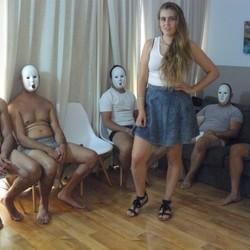 Natalia la pastorcilla y los cinco mozos,primer round