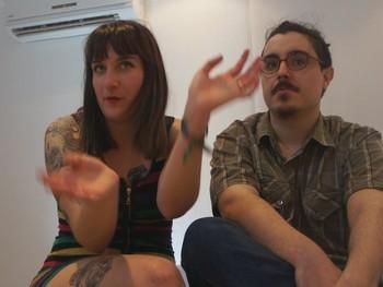 Yoko y Angel sin duda alguna, hemos venido a follar por vicio