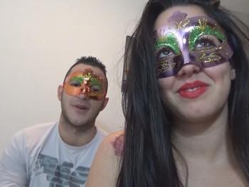 Paloma e Ivan una parejita guapa y morbosa que nos invita a grabar a su casa.